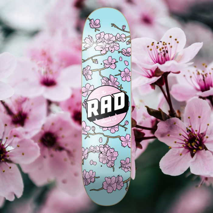 The RAD Board Co. Cherry Blossoms
