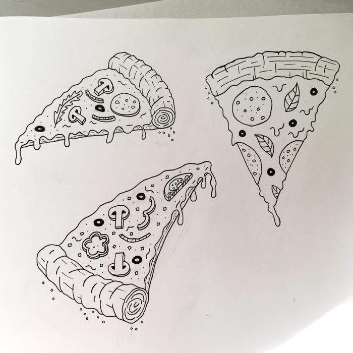 The RAD Board Co. Pizza Galaxy