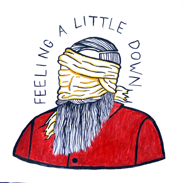 Gather Illustration Pete Reynolds Tattoo Study Feeling a Little Down
